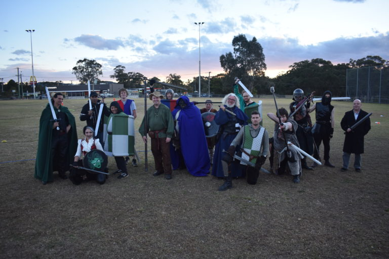 Group Photo from our 1st game