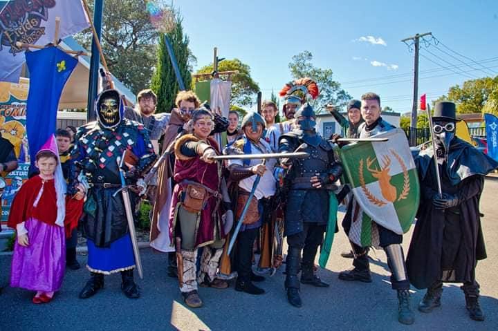 The Crew at CC Comicon